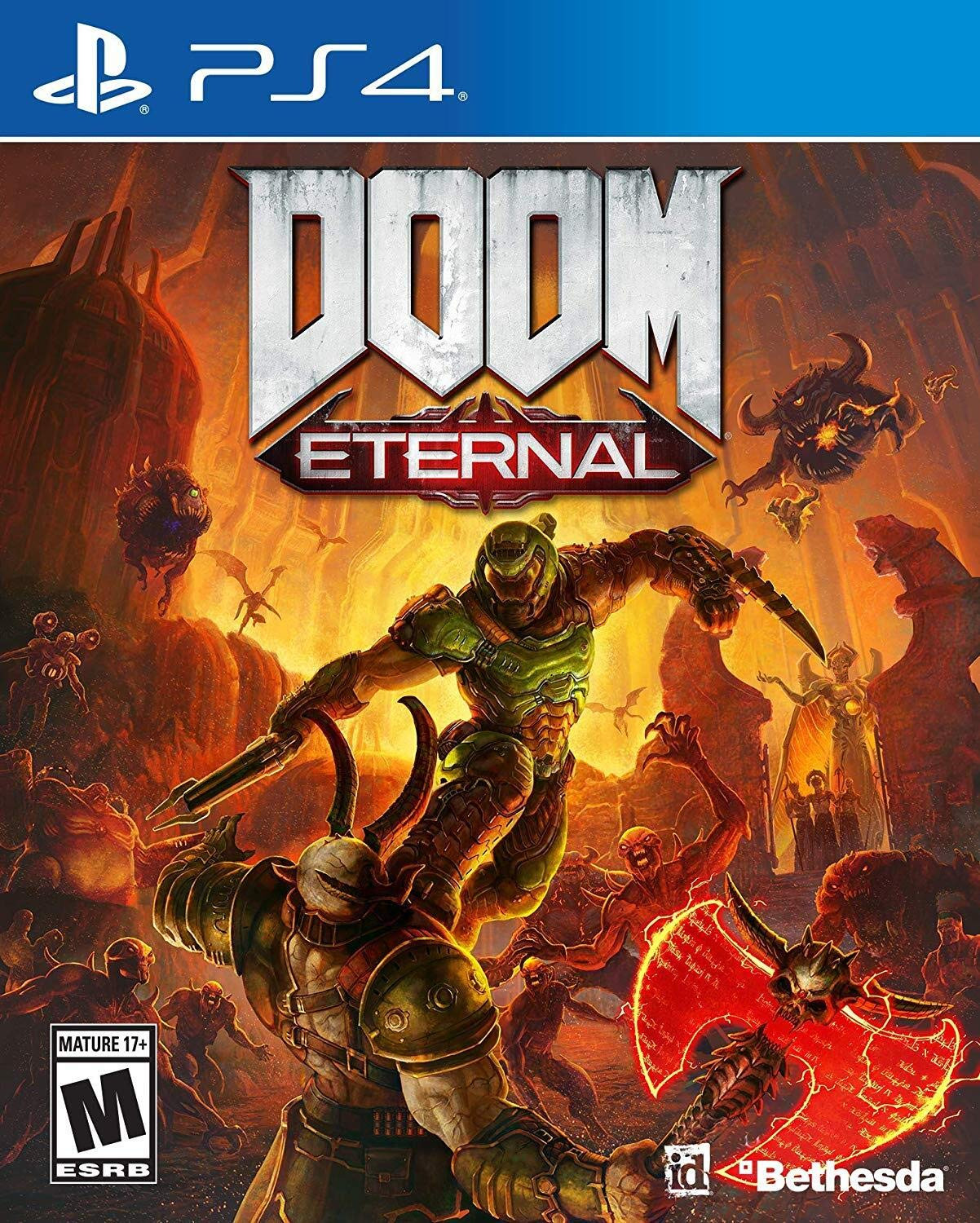 DOOM Eternal Standard Edition | PS4 Secundaria | 39.28GB