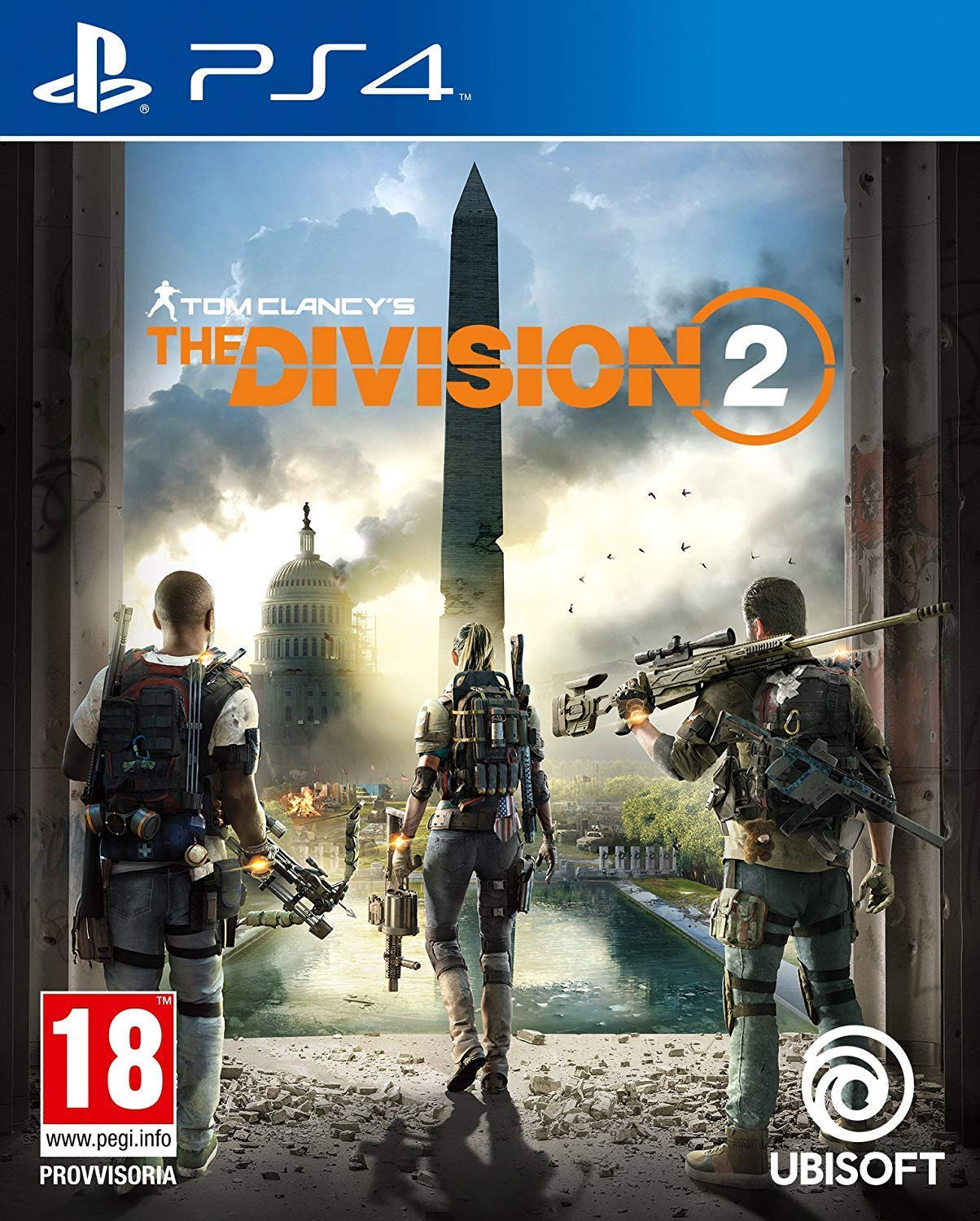 Tom Clancy's The Division 2 | PS4 Principal | 45GB