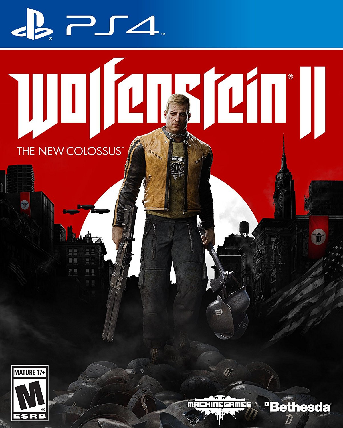 Wolfenstein II: The New Colossus   PS4 Principal   42.92GB
