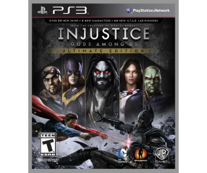 Injustice: Gods Among Us Ultimate Edition | PS3 | 10.2GB