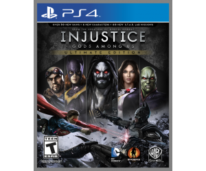 Injustice: Gods Among Us Ultimate Edition | PS4 Secundaria | 20.5GB